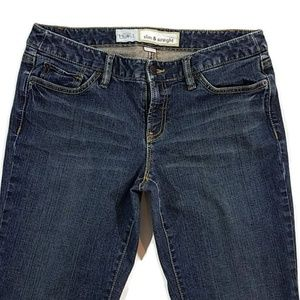 LOFT Slim & Straight Jeans